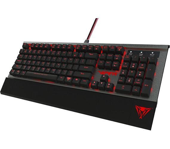 Patriot Viper 730 herní mechanická RGB klávesnice + DOPRAVA ZDARMA