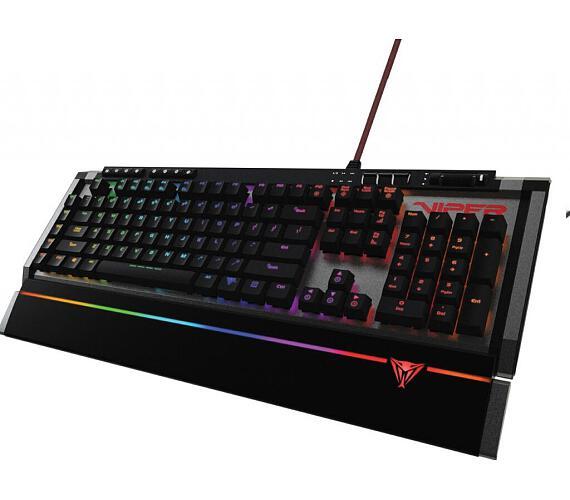 Patriot Viper 770 herní mechanická RGB klávesnice + DOPRAVA ZDARMA