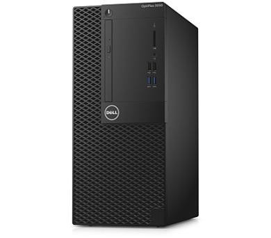 Dell PC Optiplex 3050 MT i5-7500/8G/256SSD/DP/HDMI/DVD RW/W10P/3RNBD/Černý + DOPRAVA ZDARMA