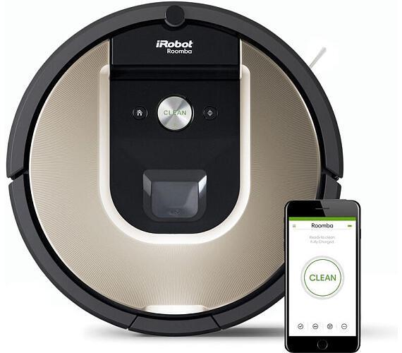 Robotický vysavač Roomba 966 + DOPRAVA ZDARMA