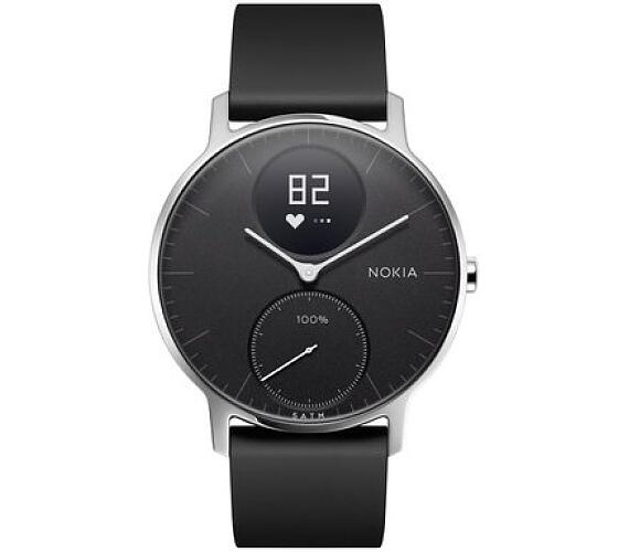 Nokia Steel HR 36mm - černá (HWA03-36black-All-Inter)