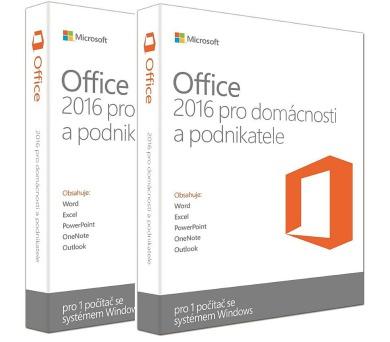 2 ks MS Office pro podnikatele 2016 32/64 bit Czech Eurozone Medialess + lego Duplo Town