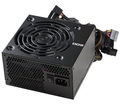 EVGA zdroj 600B 600W / 80 Plus