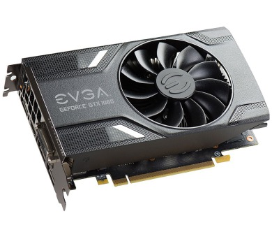 EVGA GeForce GTX 1060 GAMING / PCI-E / 3072MB GDDR5 / 3x DP / HDMI / DVI