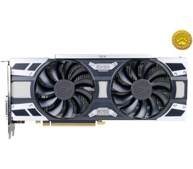 EVGA GeForce GTX 1070 SC2 GAMING / PCI-E / 8192MB GDDR5 / DVI-D / HDMI / 3x DP / iCX technologie (9 termálních sensorů) (08G-P4-6573-
