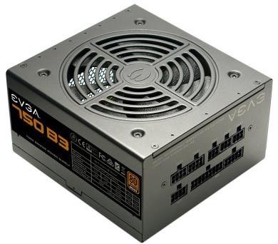 EVGA zdroj 750 B3 / 750W / modulární kabeláž / 80 Plus BRONZE (220-B3-0750-V2) + DOPRAVA ZDARMA