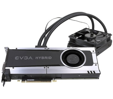 EVGA GeForce GTX 1070 GAMING HYBRID / PCI-E / 8192MB GDDR5 / HDMI / 3x DP / DVI (08G-P4-6178-KR)