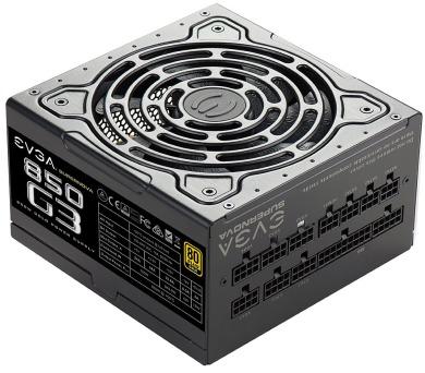 EVGA zdroj SuperNOVA 850 G3 850W / modulární kabeláž / 80 Plus gold (220-G3-0850-X2)