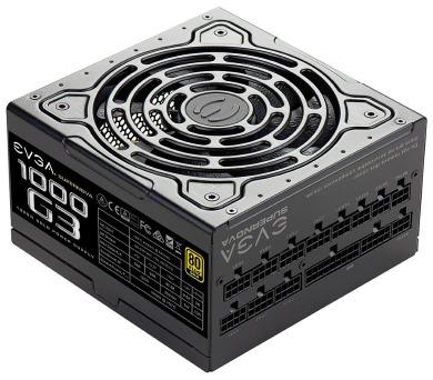 EVGA zdroj SuperNOVA 1000 G3 / 1000W / modulární kabeláž / 80 Plus GOLD (220-G3-1000-X2)