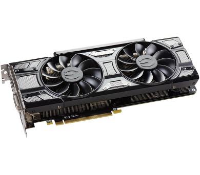 EVGA GeForce GTX 1070 Ti SC Gaming / 8GB GDDR5 / 3x DP / HDMI / DVI-D / active