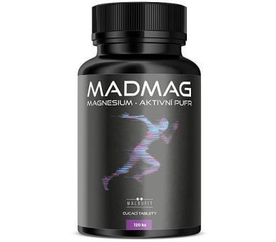 Malbucare Madmag Hořčík ve žvýkacích tabletách 120 tablet