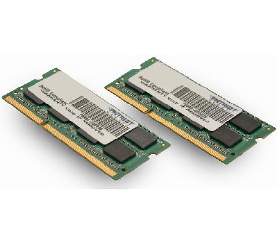 SO-DIMM 8GB DDR3-1600MHz PATRIOT + DOPRAVA ZDARMA