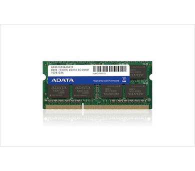 SO-DIMM 2GB DDR3 1333MHz C9 ADATA retail (AD3S1333C2G9-R)