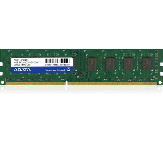 8GB DDR3L-1600MHz ADATA CL11 1,35V (ADDU1600W8G11-R) + DOPRAVA ZDARMA