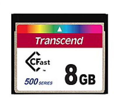 TRANSCEND Industrial Compact Flash Card CFX500 8GB