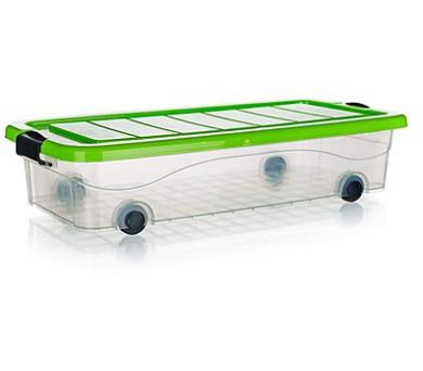 Box úložný pod postel na kolečkách PYRAMIDA 30 l