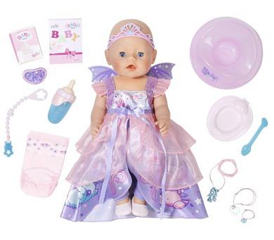 Interaktivní BABY born - víla + DOPRAVA ZDARMA