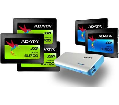 Bundle 5x SSD + 1x powerbanka zdarma