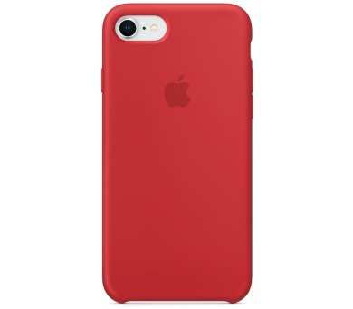 Apple iPhone 8/7 Silicone Case - (PRODUCT)RED (mqgp2zm/a)