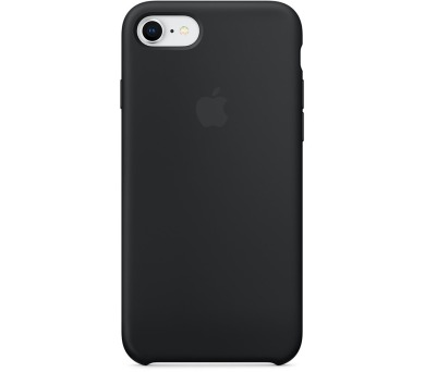 Apple iPhone 8/7 Silicone Case - Black (mqgk2zm/a)