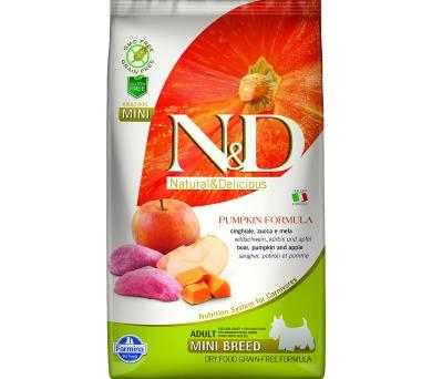 N&D Grain Free Dog Adult Mini Pumpkin Boar & Apple 2,5 kg