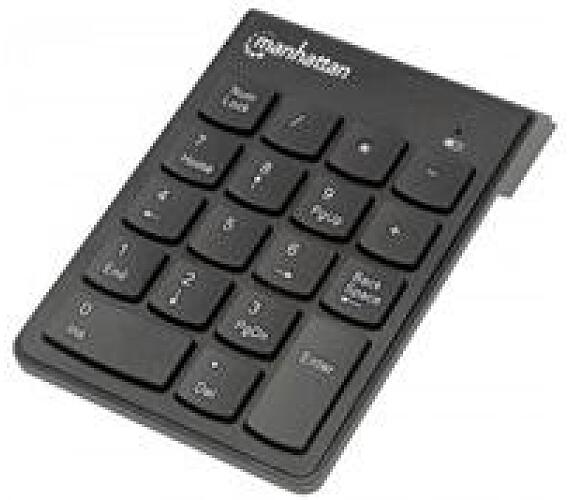 MANHATTAN Numerická bezdrátová klávesnice USB (178846)