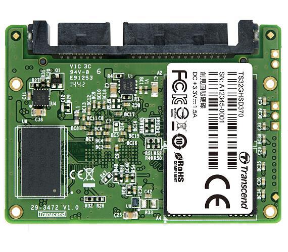 TRANSCEND HSD370 32GB Half-Slim SSD disk SATA III 6Gb/s + DOPRAVA ZDARMA