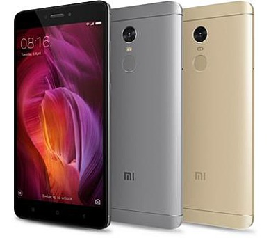 Xiaomi Redmi Note 4 DualSIM gsm tel. Gold 4+64GB + DOPRAVA ZDARMA