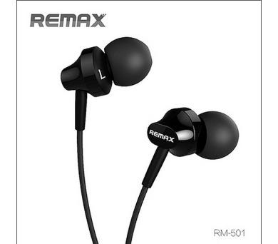 Remax sluchátka - černé (AA-854)