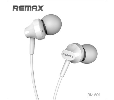 Remax sluchátka - bílé (AA-855)