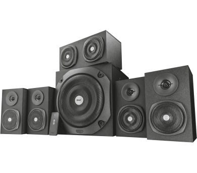 TRUST Vigor 5.1 Surround Speaker System for pc - black (22236)