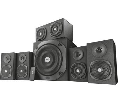 TRUST Vigor 5.1 Surround Speaker System for pc - black + DOPRAVA ZDARMA