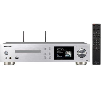 Pioneer audio přijímač 2.0 s CD a sítí stříbrný (NC-50DAB-S) + DOPRAVA ZDARMA