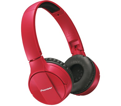Pioneer náhlavní sluchátka s BT červená