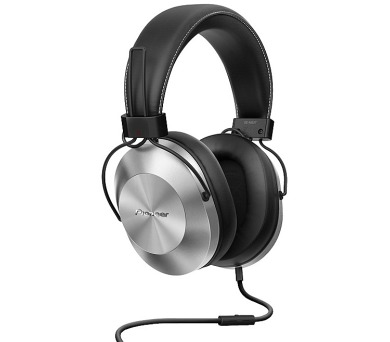 Pioneer náhlavní sluchátka Hi-Res stříbrná