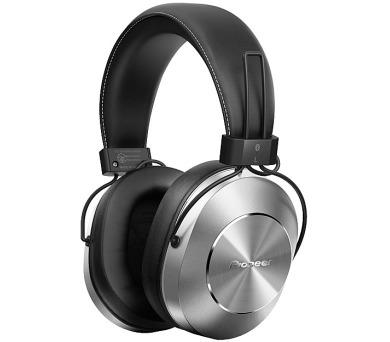 Pioneer náhlavní sluchátka s BT Hi-Res stříbrná