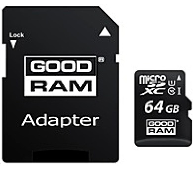 GOODRAM Micro SDXC card 64GB