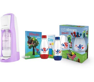 Sodastream Jet Pastel Violet + Žížaláci + DOPRAVA ZDARMA