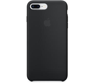 Apple iPhone 8 Plus/7 Plus Silicone Case - Black (mqgw2zm/a)