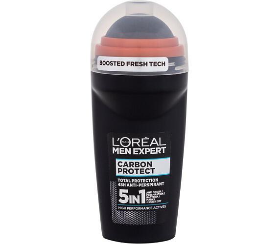 Pánská tělová kosmetika L´Oréal Paris Men Expert Carbon Protect Antiperspirant Roll On