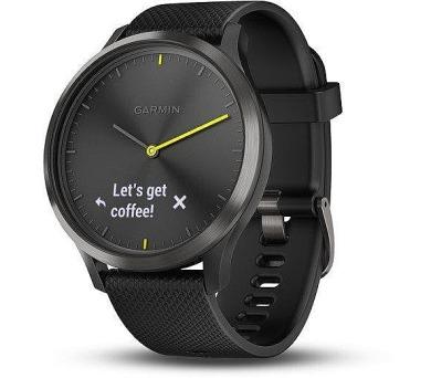 GARMIN stylové/chytré hodinky vívomove Optic Sport Black (velikost L) (010-01850-21) + DOPRAVA ZDARMA