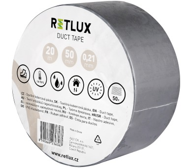 RIT DT2 Duct tape 20m x 50mm Retlux
