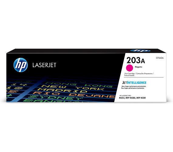 HP tisková kazeta 203A purpurová CF543A originál