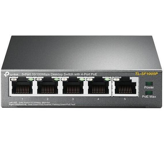TP-Link TL-SF1005P - PoE switch + DOPRAVA ZDARMA