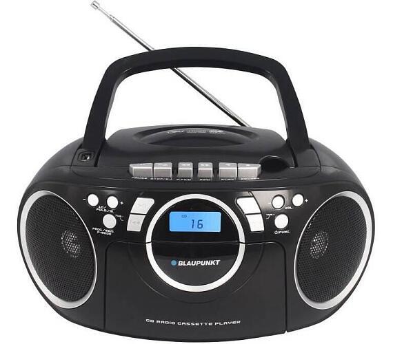 BLAUPUNKT BB16BK FM PLL CD/MP3/USB/AUX + DOPRAVA ZDARMA