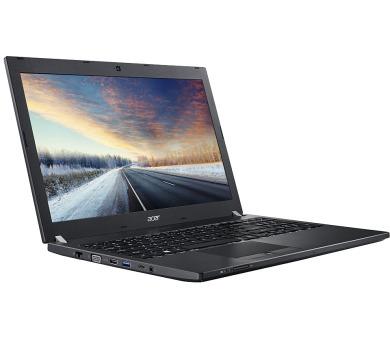 """ACER NTB TMP658-G3-M-76CE - i7-7500U,15.6""""FHD IPS,8GB,512SSD,HD graphics,noDVD,čt.karet,čt.prst,usb-c,HDcam,W10P,black"""