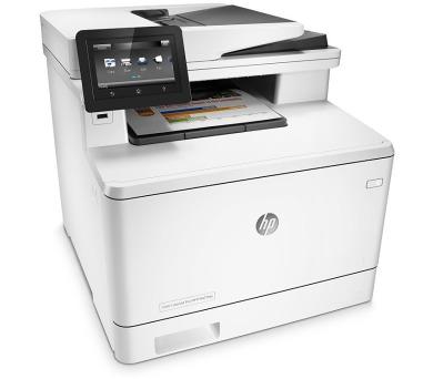POŠKOZENÝ OBAL - HP Color LaserJet Pro MFP M477fdn/ A4/ 27ppm/ print+scan+copy+fax/ Duplex/ USB/ LAN