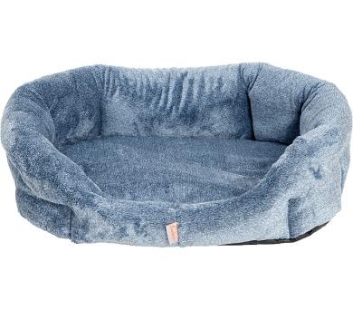 Pelech 8 hran flanel fleece Pohádka modrý melír 85 cm + DOPRAVA ZDARMA