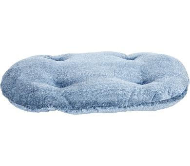 Polštář ovál flanel fleece Pohádka modrý melír 80 cm + DOPRAVA ZDARMA