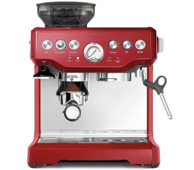 BES870 Espresso červené Sage + záruka 3 roky po zaregistrování + DOPRAVA ZDARMA
